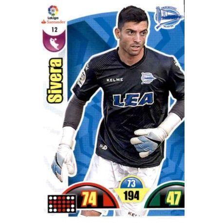 Sivera Alavés 12 Cards Básicas 2017-18