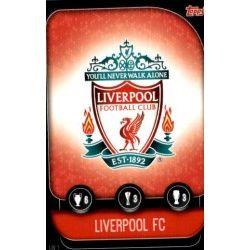 Escudo Liverpool LIV 1 Match Attax Champions 2019-20