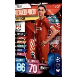 Trent Alexander-Arnold Liverpool LIV 5 Match Attax Champions 2019-20