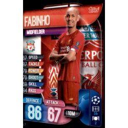 Fabinho Liverpool LIV 7 Match Attax Champions 2019-20