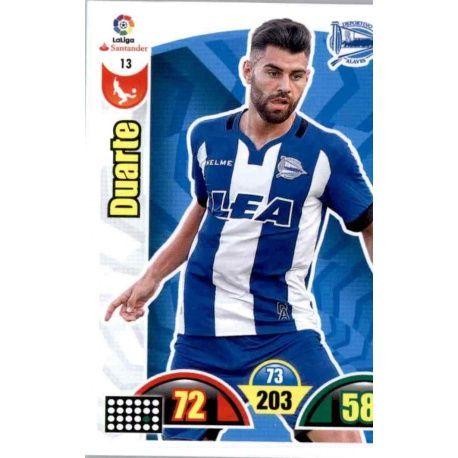 Duarte Alavés 13 Cards Básicas 2017-18