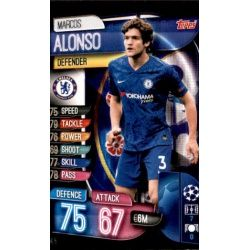 Marcos Alonso Chelsea CHE 5 Match Attax Champions 2019-20