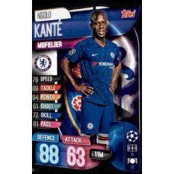 N´Golo Kanté Chelsea CHE 7 Match Attax Champions 2019-20