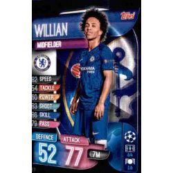 William Chelsea CHE 11 Match Attax Champions 2019-20