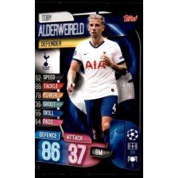 Toby Alderweireld Tottenham Hotspur TOT 3 Match Attax Champions 2019-20