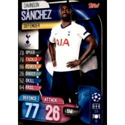 Davinson Sánchez Tottenham Hotspur TOT 5 Match Attax Champions 2019-20