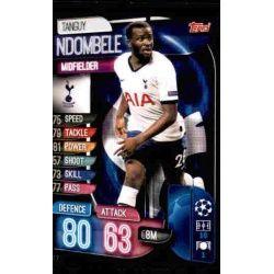 Tanguy Ndombele Tottenham Hotspur TOT 7 Match Attax Champions 2019-20