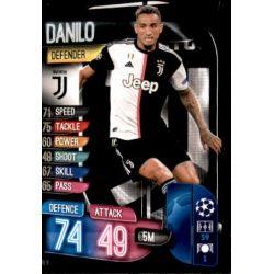 Danilo Juventus JUV 6 Match Attax Champions 2019-20