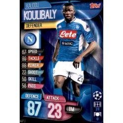 Kalidou Koulibaly SSC Napoli NAP 3 Match Attax Champions 2019-20