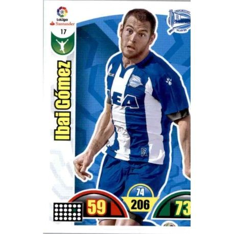 Ibai Gómez Alavés 17 Cards Básicas 2017-18