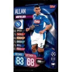 Allan SSC Napoli NAP 6 Match Attax Champions 2019-20