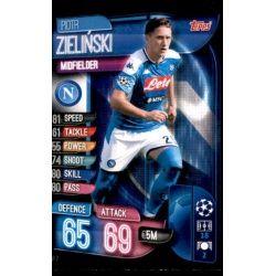 Pioyr Zielinski SSC Napoli NAP 7 Match Attax Champions 2019-20