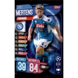 Vries Mertens SSC Napoli NAP 11 Match Attax Champions 2019-20