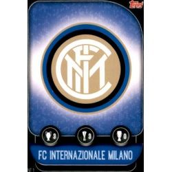 Escudo Inter Milán INT 1 Match Attax Champions 2019-20