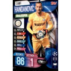 Samir Handanovic Inter Milán INT 2 Match Attax Champions 2019-20