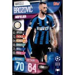 Marcelo Brozovic Inter Milán INT 8 Match Attax Champions 2019-20
