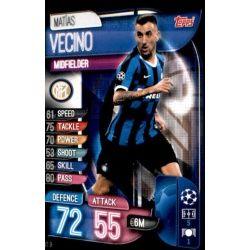 Matías Vecino Inter Milán INT 9 Match Attax Champions 2019-20