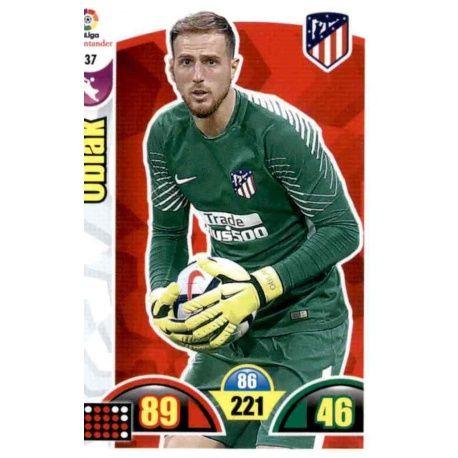 Oblak Atlético Madrid 37 Cards Básicas 2017-18
