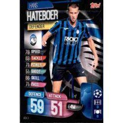 Hans Hateboer Atalanta SC ATA 3 Match Attax Champions 2019-20