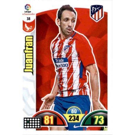 Juanfran Atlético Madrid 38 Cards Básicas 2017-18