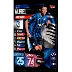 Luis Muriel Atalanta SC ATA 10 Match Attax Champions 2019-20