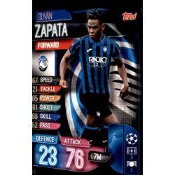 Duván Zapata Atalanta SC ATA 12 Match Attax Champions 2019-20