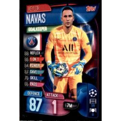 Keylor Navas Paris Saint-Germain PSG 2 Match Attax Champions 2019-20