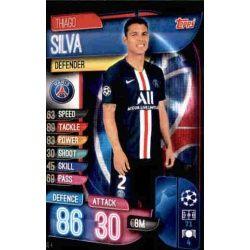Thiago Silva Paris Saint-Germain PSG 4 Match Attax Champions 2019-20