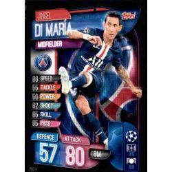 Ángel Di María Paris Saint-Germain PSG 9 Match Attax Champions 2019-20