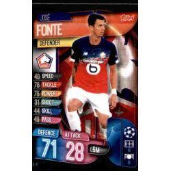 José Fonte LOSC Lille LIL 4 Match Attax Champions 2019-20