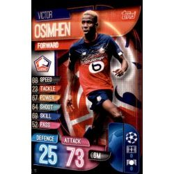 Victor Osimhen LOSC Lille LIL 11 Match Attax Champions 2019-20