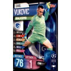 Daniel Vukovic KRC Genk GEN 2 Match Attax Champions 2019-20
