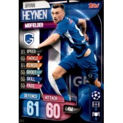 Bryan Heynen KRC Genk GEN 9 Match Attax Champions 2019-20