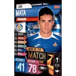 Jaime Mata Man Of The Match Getafe M GET Match Attax Champions 2019-20