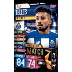 Alex Telles Man Of The Match FC Porto M POR Match Attax Champions 2019-20