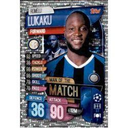 Romelu Lukaku Man Of The Match Inter Milán M INT Match Attax Champions 2019-20