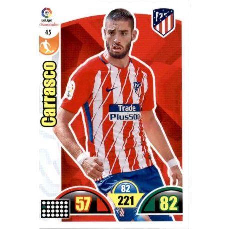 Carrasco Atlético Madrid 45 Cards Básicas 2017-18