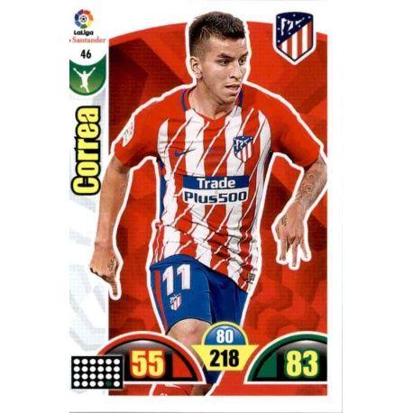 Correa Atlético Madrid 46 Cards Básicas 2017-18
