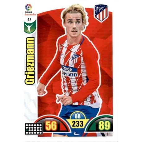 Griezmann Atlético Madrid 47 Cards Básicas 2017-18