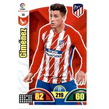 Giménez Atlético Madrid 50 Cards Básicas 2017-18