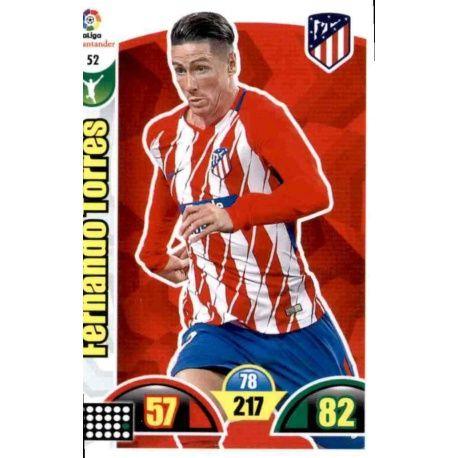 Fernando Torres Atlético Madrid 52 Cards Básicas 2017-18