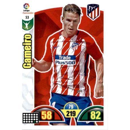 Gameiro Atlético Madrid 53 Cards Básicas 2017-18