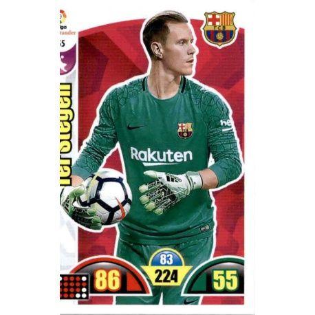 Ter Stegen Barcelona 55 Cards Básicas 2017-18