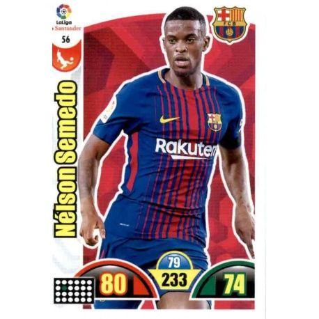 Nélson Semedo Barcelona 56 Cards Básicas 2017-18