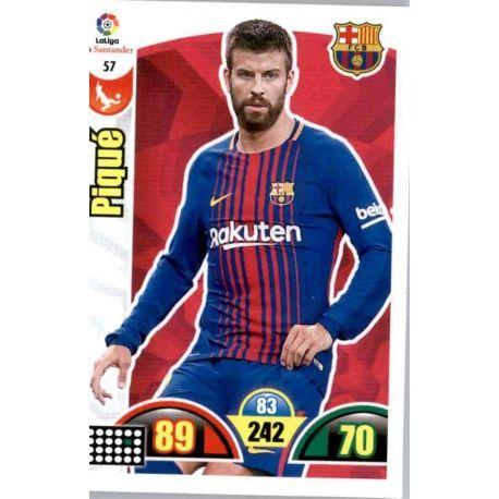 Piqué Barcelona 57 Cards Básicas 2017-18