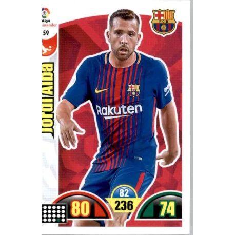 Joedi Alba Barcelona 59 Cards Básicas 2017-18