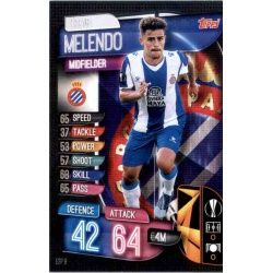 Óscar Melendo Espanyol ESP 8 Match Attax Champions 2019-20