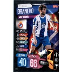 Esteban Granero Espanyol ESP 9 Match Attax Champions 2019-20
