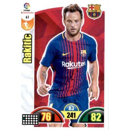 Rakitic Barcelona 61 Cards Básicas 2017-18
