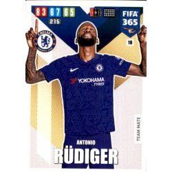 Antonio Rüdiger Chelsea 18 FIFA 365 Adrenalyn XL 2020